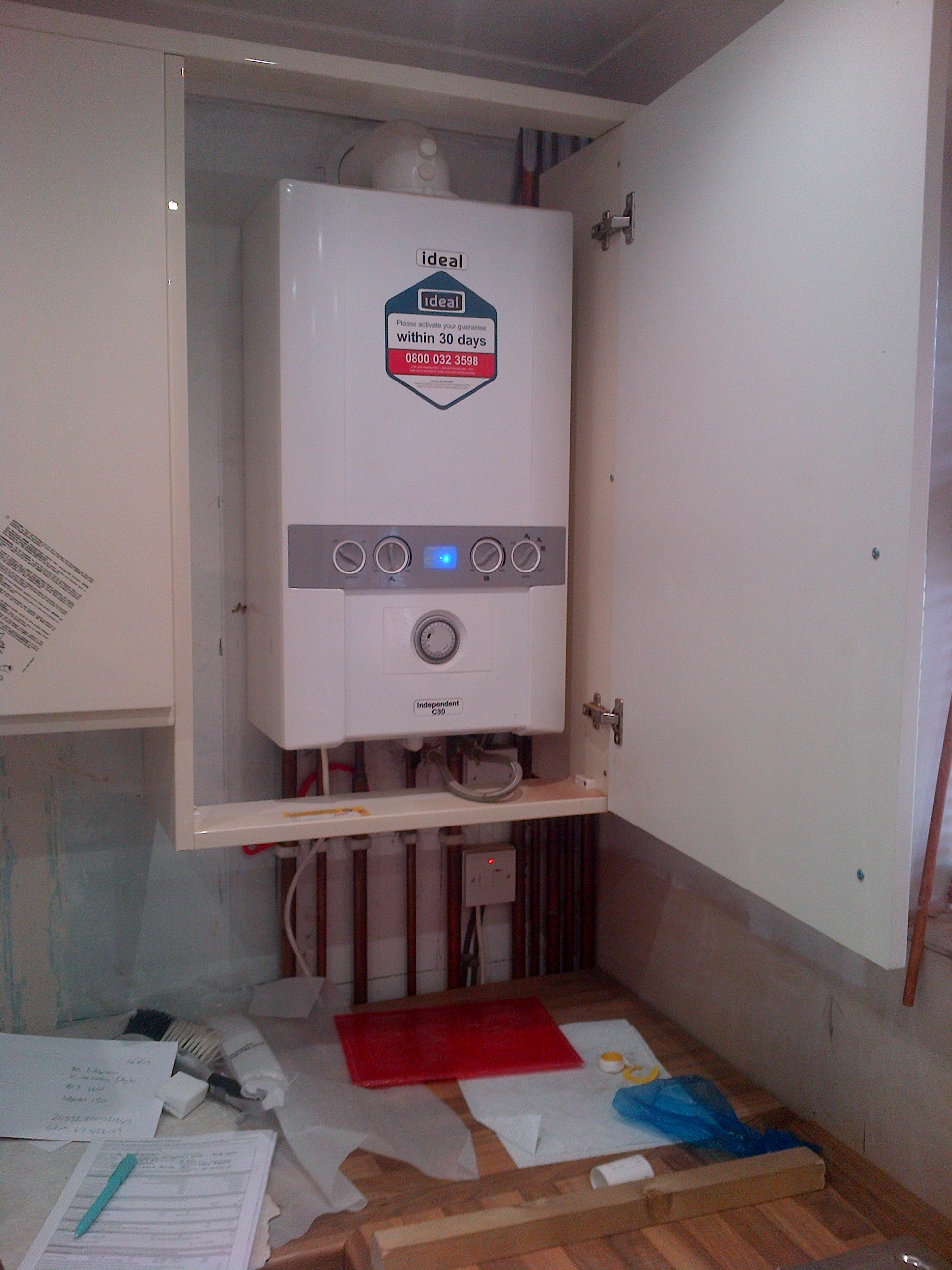 New Boiler Installation - EMD Heating - Gas Safe Heating and Boiler ...