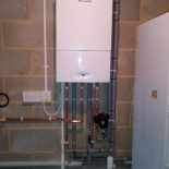 Worcester 32 CDI Compact / Fernox TF1 Compact installed in garage in Rainham Kent