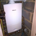 Worcester 28cdi Compact installed in cupboard Axminster