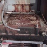 Coroded Potterton Profile heat exchanger due to lack of servicing in Hempstead